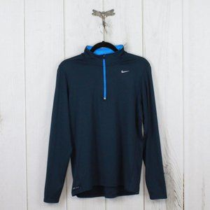NIKE Running Dri-Fit Quarter Zip Pullover Size M